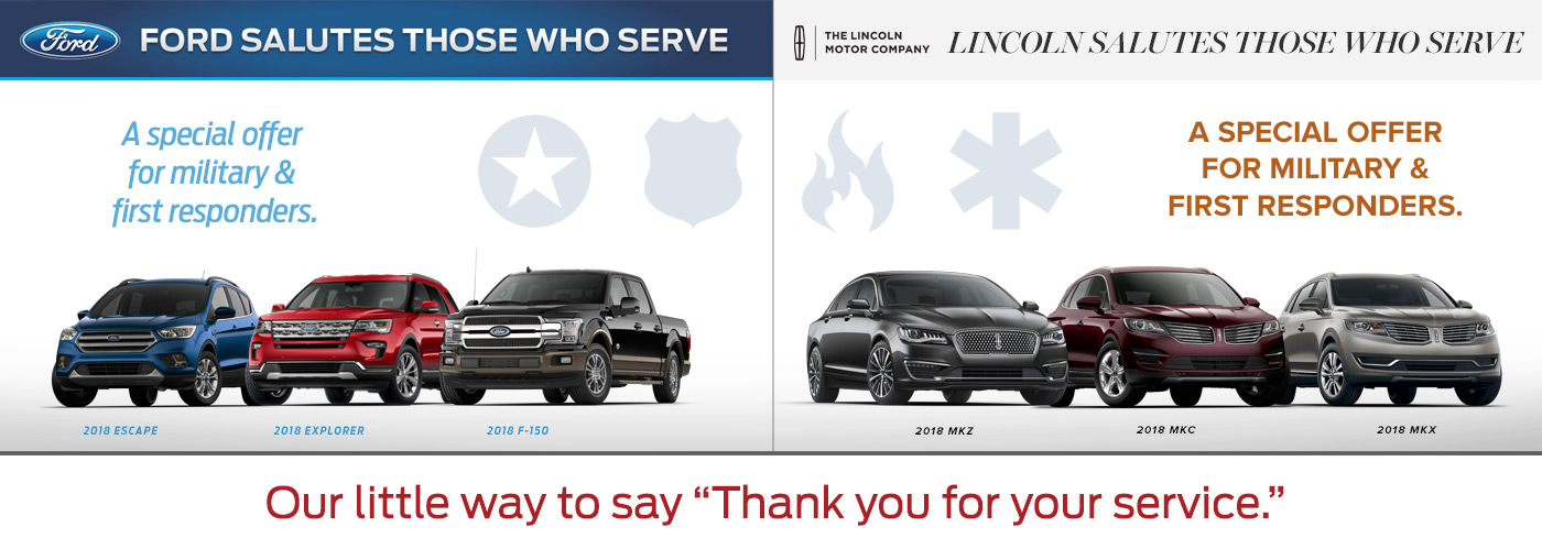 Military Discounts on Ford Cars in Colorado Springs
